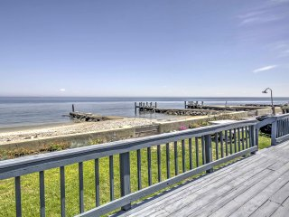 New! Beachfront 4BR St. Leonard Cottage w/ Deck!