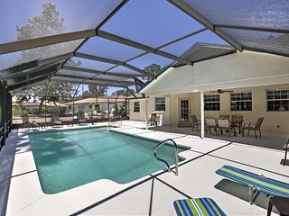 Palm Coast Home w/ Private Pool Near Golf Course!