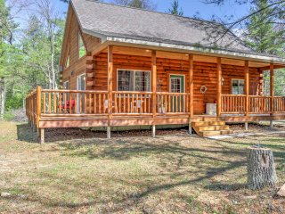 NEW! 3BR Wausaukee Cabin w/ Wrap-Around Porch!