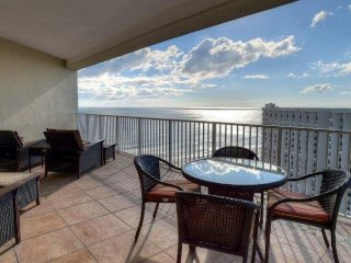 Two Bedroom Tops'l Tides Condo with Over-Sized Balcony & Stunning Gulf Views!
