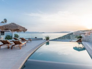 Tersanas Seafront Villa with amazing views