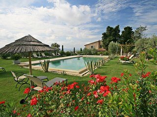 Stunning Luxury villa with private garden & pool near Florence