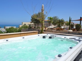 Charming House - Jaffa - Sea View Jacuzzi 6metters
