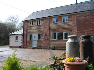 A spacious detached newly converted barn located in a quiet hamlet