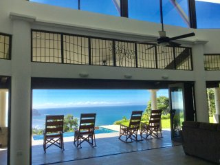 2016 Construction Villa - Higher Elevation /180 Degree Beach/Ocean/Jungle View