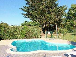 gîte Rubis avec piscine chauffée à 5kms de la plage