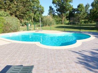 location gite Améthyste avec piscine chauffée à 5kms de la plage.