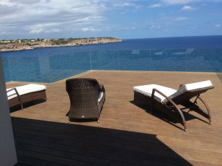 Front line villa with amazing view to open sea and Es Pontas