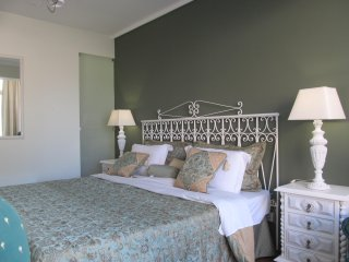Bedroom with single beds which we can join as a double bed
