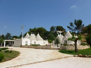 NEW! Luxury Trullo for unforgettable countryside escape holiday!