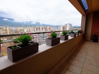 Beautiful luxurious apartment in the heart of Tirana with an amazing city view.
