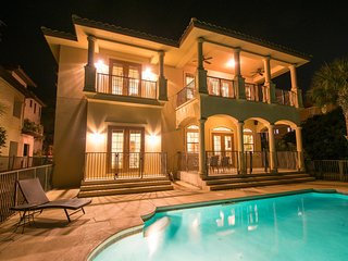 Gorgeous Beach Home ~ Private Pool ~Steps from the Gulf!