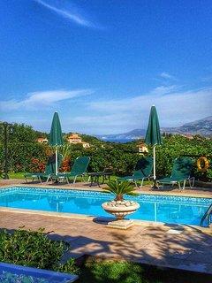 Traditional Villamandola, Private Pool,in lakithra, View Of Argostoli Bay