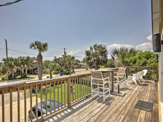 NEW! 2BR St. Augustine House w/Deck & Ocean Views!