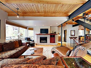 4BR w/ Hot Tub, Fire Pit, & BBQ, Steps to Steamboat Springs Ski Resort