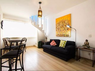 FANTASTIC ARTISTIC IPANEMA BEACH PENTHOUSE - NEW ON THE RENTAL MARKET
