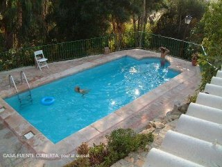 detached rural house with private pool