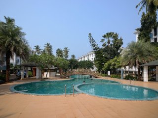 Sunshine Park Homes at  Exclsior 1BHK+pool in Colva