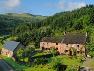 Abercynafon Farm Barn - Renovated barn in Brecon, with authentic walls and