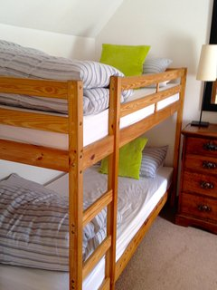 Bunk bedded room