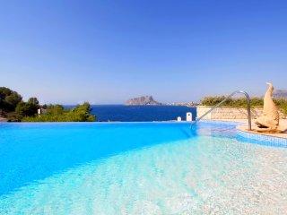 Villa lujosa con magnificas vistas en Moraira