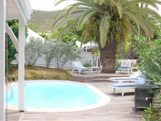 St Barth villa 2 bed Pool beach and restaurant by walking St Jean