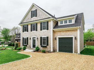 SAXTK - Exquisite New Contemporary Edgartown Home, Fenced in Yard Area, Two