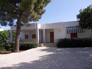 Villa a 300 mt. dal mare con verande e giardino fino a 12 p.letto