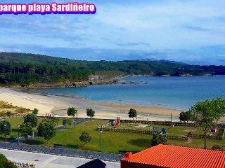 Apartamento gran calidad, a 40 metros de playa Sardineiro Fisterra