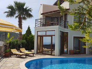 Villa One 2 bedrooms, sleeps 4 with ensuite bathrooms and private pool & gardens