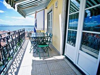 Chiado Apartments Balcony and River Views
