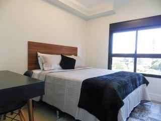 Apartamento mobiliado com enxoval em Pinheiros 40m²