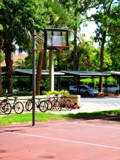 Basketball track.