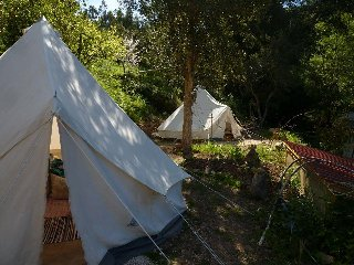 4 Bell Tents,  Terradomilho, Monchique, Algarve