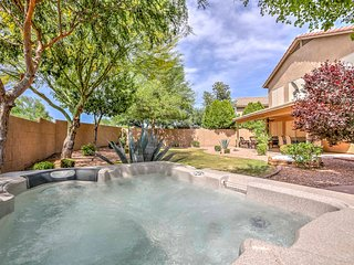 New! 4BR Surprise House w/ Hot Tub & Outdoor Patio
