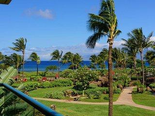 Maui Resort Rentals: Honua Kai Hokulani 246 - 2BR w/ Ocean & Mountain Views
