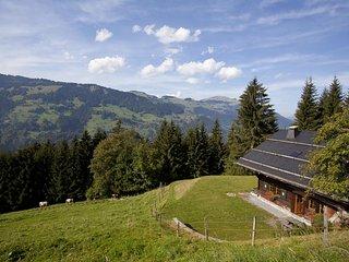 Authentique chalet dans les Alpes suisses