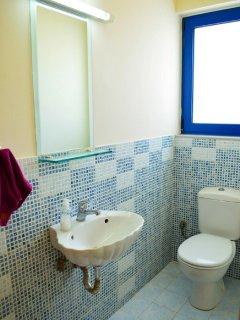 Upper level 2 piece washroom