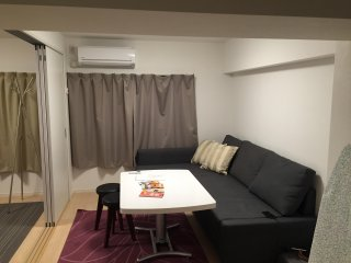 2Bedroom + Living + Kitchen in Central Tokyo, Yoyogi Shibuya + free Pocket WiFi