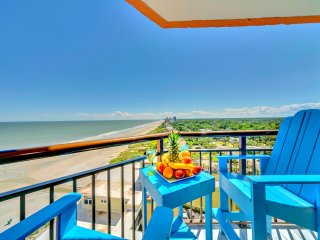 Romance in Penthouse 37 at Monterey Bay/Best View at Beach/60'Tvs/Fireplace/King