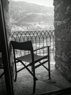 Bilocale Il Cane - piccolo balcone