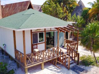 Private 1br Villa Holbox w/beach views sleeps 4 by VACAY