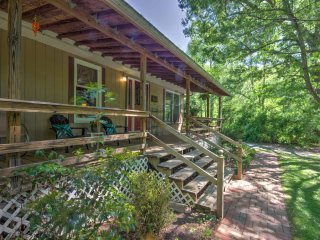 Lovely Barnardsville House w/Covered Porch & Yard!