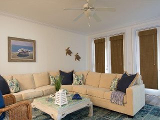 Spacious 3BR Condo w/ Balcony, Private Boat Slip – Directly Across from Beach