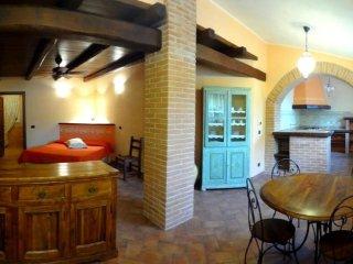 Appartamento  in villa con giardino a 600 m dal mare