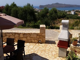 Cozy 45sqrm Apartment with Sea View, Sleeps 4 - Villa Clio Pantanassa Villas