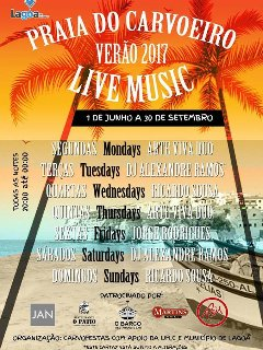 Life Music on the beach from June 1 till September 30 every evening
