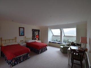Top floor bedroom 4 -bed lined now all cream