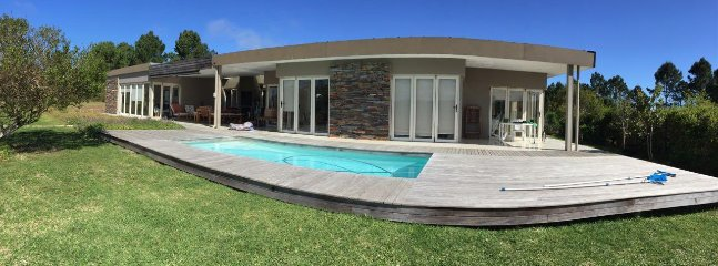 The main house and Pool Deck
