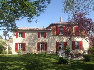 Chambre d'hôtes dans maison de charme avec vue sur la vallée de l'Avance